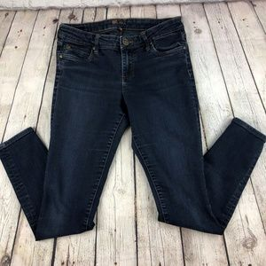 KUT from the Kloth Dark Wash Skinny Jeans Size 6